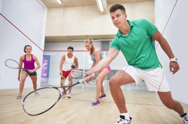Korty do squasha w Hali Sportowej